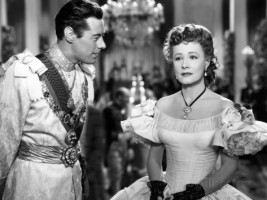 Rex Harrison and Irene Dunne, in the 1946 film, Anna and the King of Siam